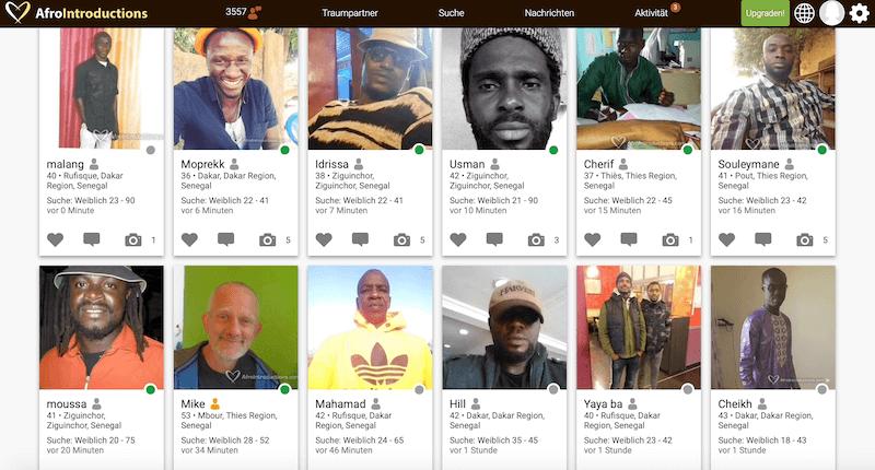 Afrikanische Single Männer in Senegal