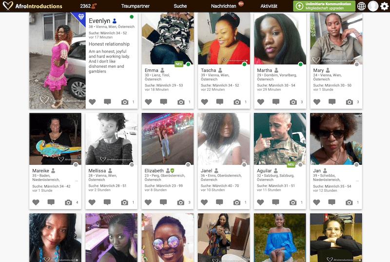 Afrikanische Singles in Österreich daten