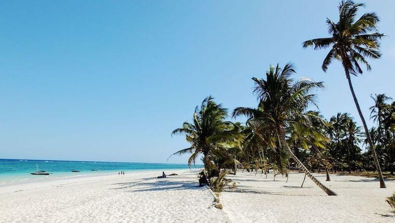 Diani Strand Kenia