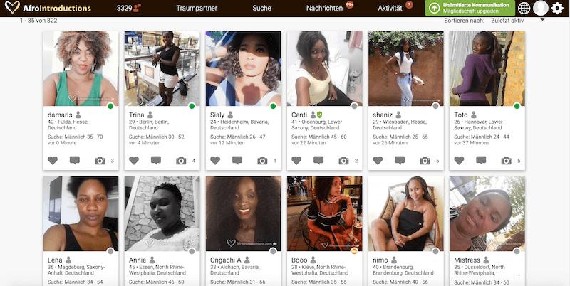 Kenianische Frauen in Deutschland kennenlernen