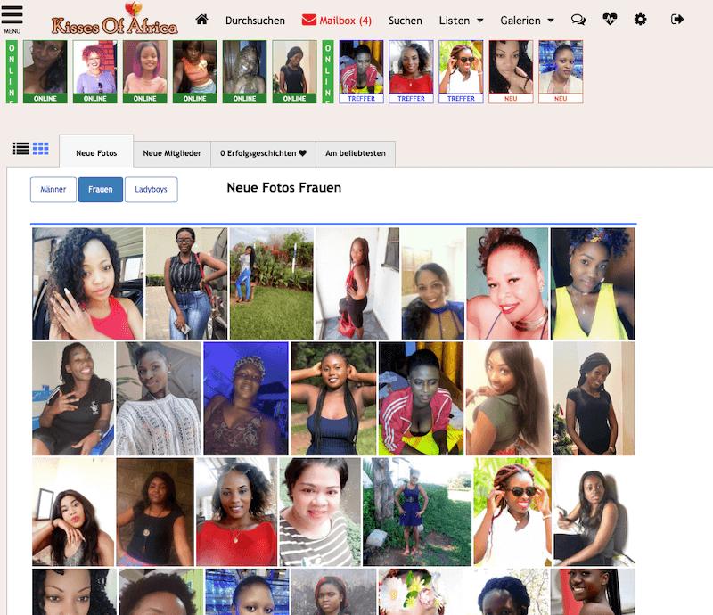 Frauen auf Kisses of Africa